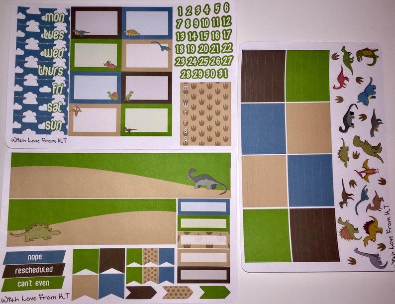 Rawr Planner Sticker Kit