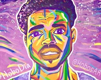 Chance The Rapper Wall Art