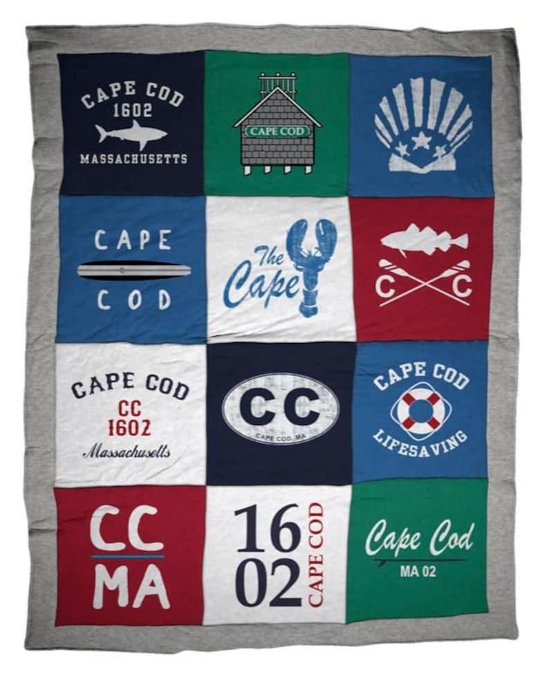 Cape Cod Destination Blanket image 0
