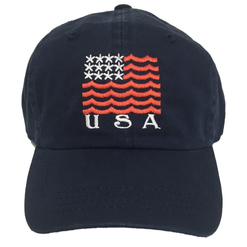 Limited Edition Team USA Vintage Navy Hat // Summer Olympics image 0