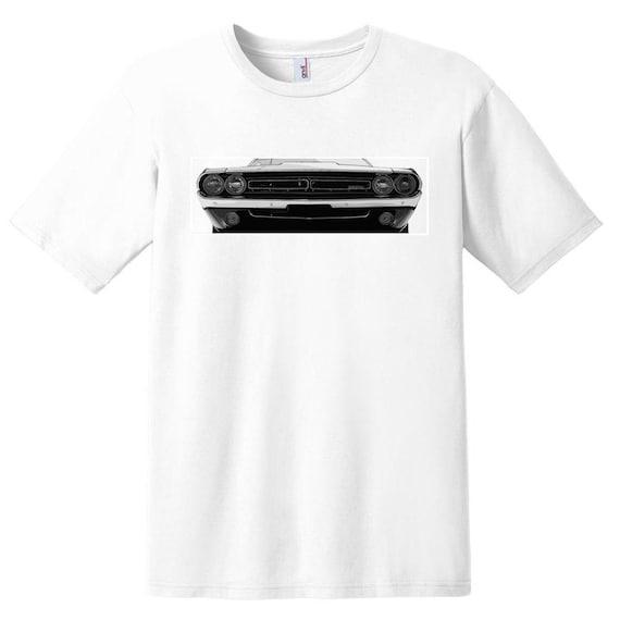 Car Enthusiast 70 Dodge Challenger Shirt Car Design T-shirt Unisex Car Shirt