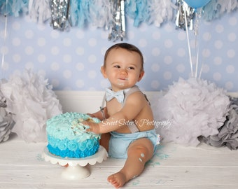 Winter 1st Birthday Boy Outfit Onederland Cake Smash Bow Tie And Suspenders Baby