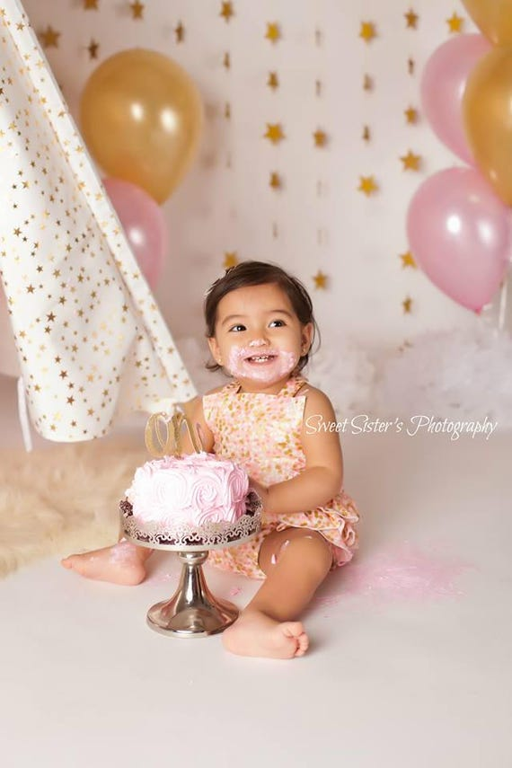 girls 1st birthday outfit pink girls cake smash outfit pink etsy