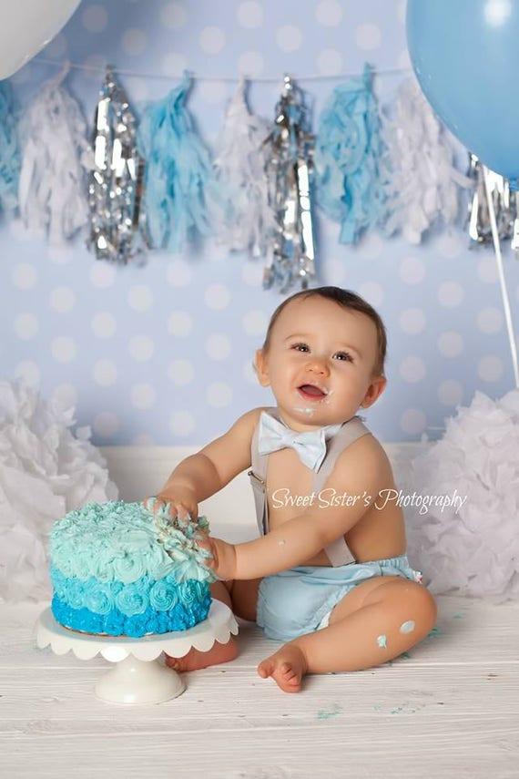 Awesome Cake Smash Outfit Jongen 1E Verjaardag Outfit Jongen Jongen Etsy Personalised Birthday Cards Veneteletsinfo