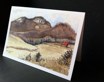 Table Rock Greeting Card