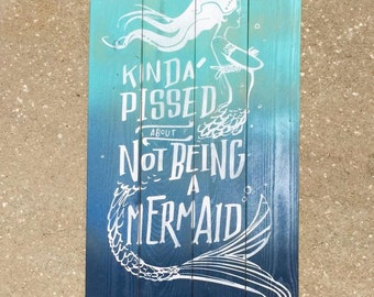 Mermaid Pallet Art