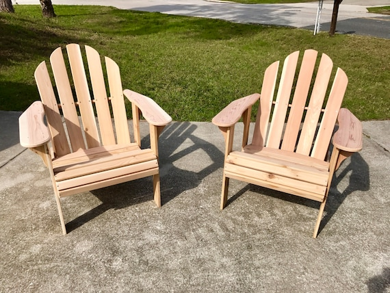 Handcrafted Adirondack Chair Etsy
