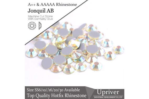 A Jonquil AB Color Rhinestones Hotfix Rhinestones DMC  3218067c2ba3