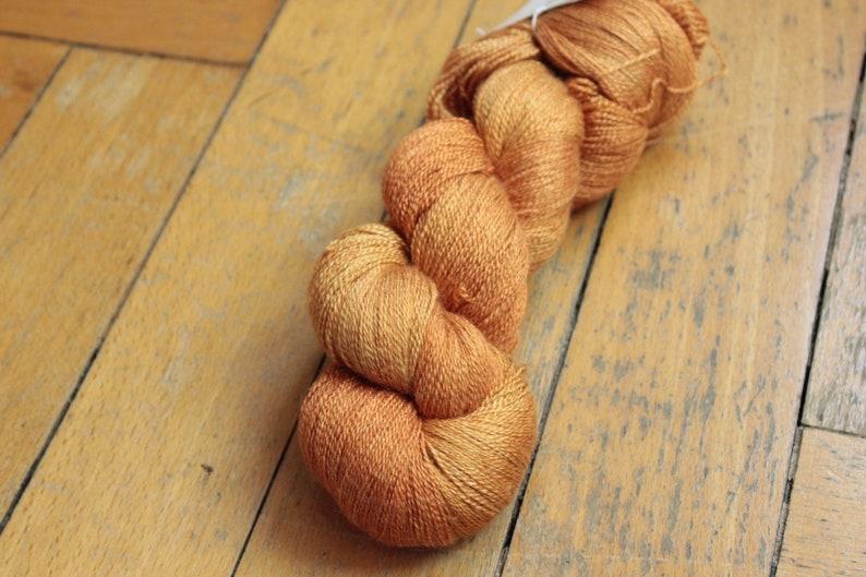 knit BFL 800 m100g hand-dyed crochet wool Saba lace silk mix silk BFL
