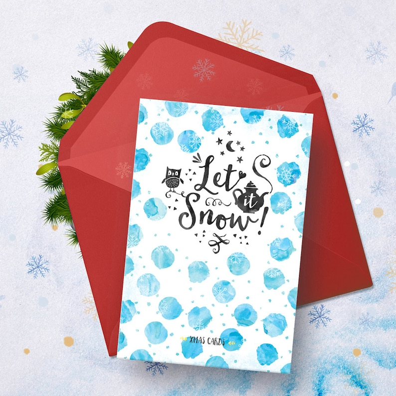 6x Christmas Cards, Postcards, Cartes de voeux, Wishing Cards, New Year - Xmas, Noël