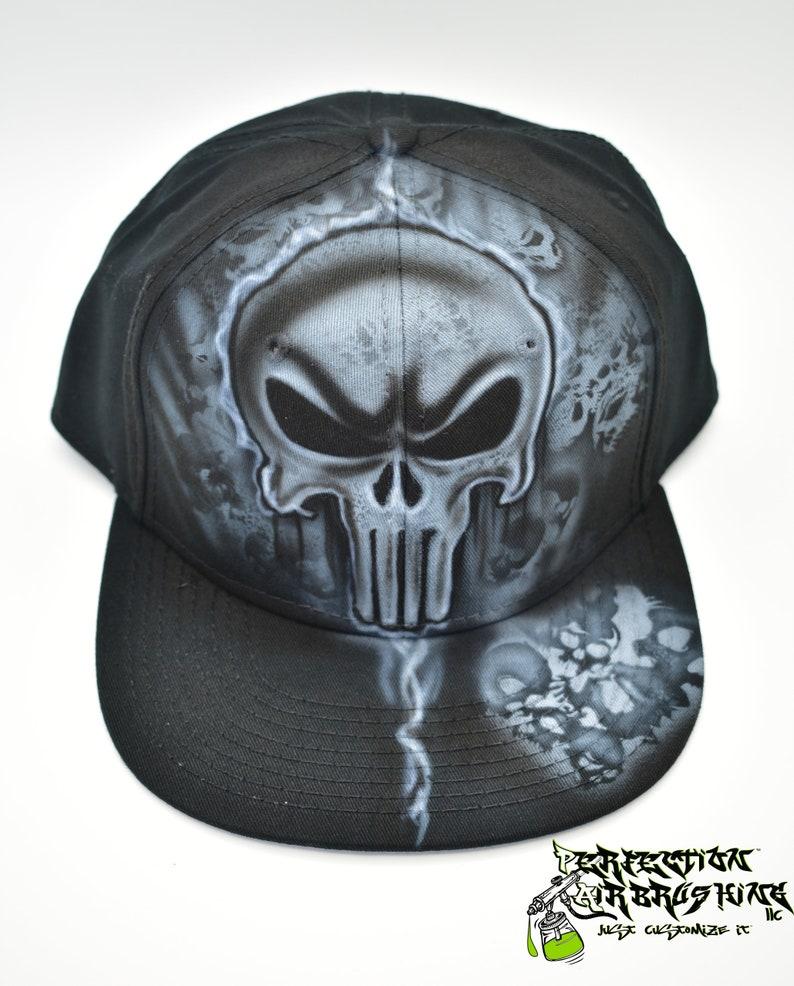 Skull Snapback Hat