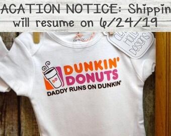 fa39bc184 Dunkin Donuts Coffee Onesie,