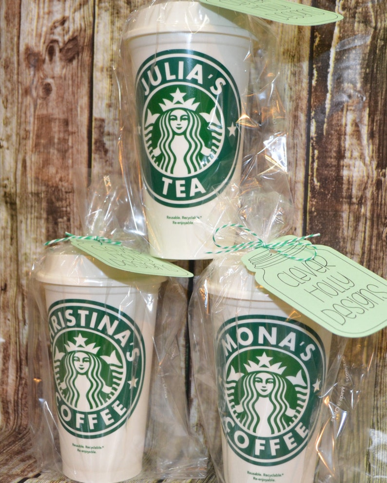 Personalized Starbucks Cup Travel Coffee Mug Custom Starbucks Cup Custom Travel Tumbler Genuine Reusable Quality Gift Idea