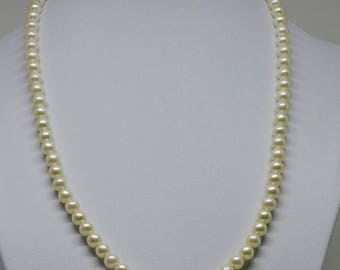 Faux Pearls Beaded Necklace