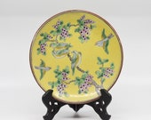 Antique Chinese porcelain plate, 6.5 inhes wide, 1930s