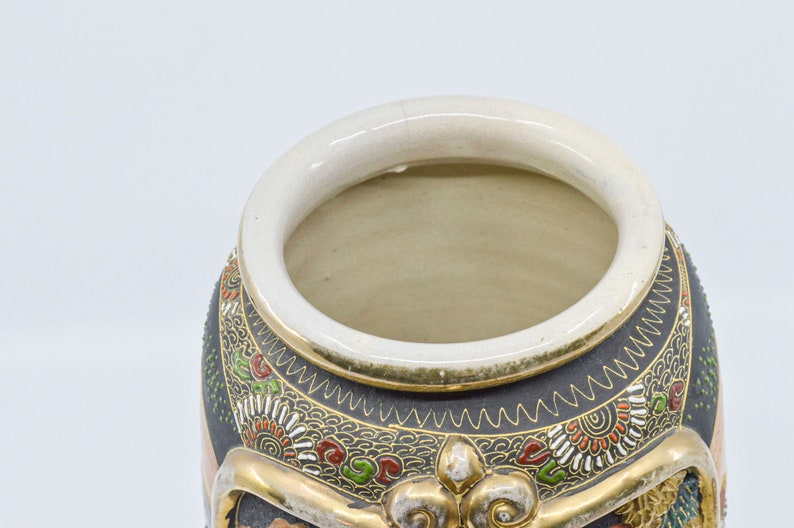 Pottery vintage satsuma ANTIQUE JAPANESE