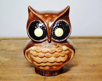 Ceramic Owl, Owl Decor, Nursery Decor, Owl Gift, Owl Nursery Decor, Owl Nursery, Owl Home Decor, Owl Lover, Brown Owl, Owls, Hoot Owl, Owl