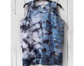 Vest Festival DESERT STORM Mens Large Tie Dye Top Spiritual Space Hippie Elements Collection