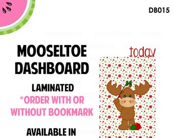 MOOSELTOE  Laminated Dashboard for Traveler's Notebook | .3mil | DB015
