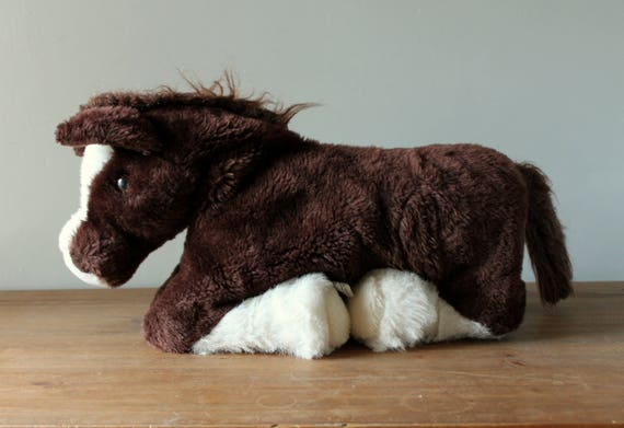 Country Critters Large Horse Hand Puppet Full Body Plush Pony Etsy