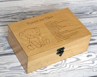 Elephant Memory Box Etsy