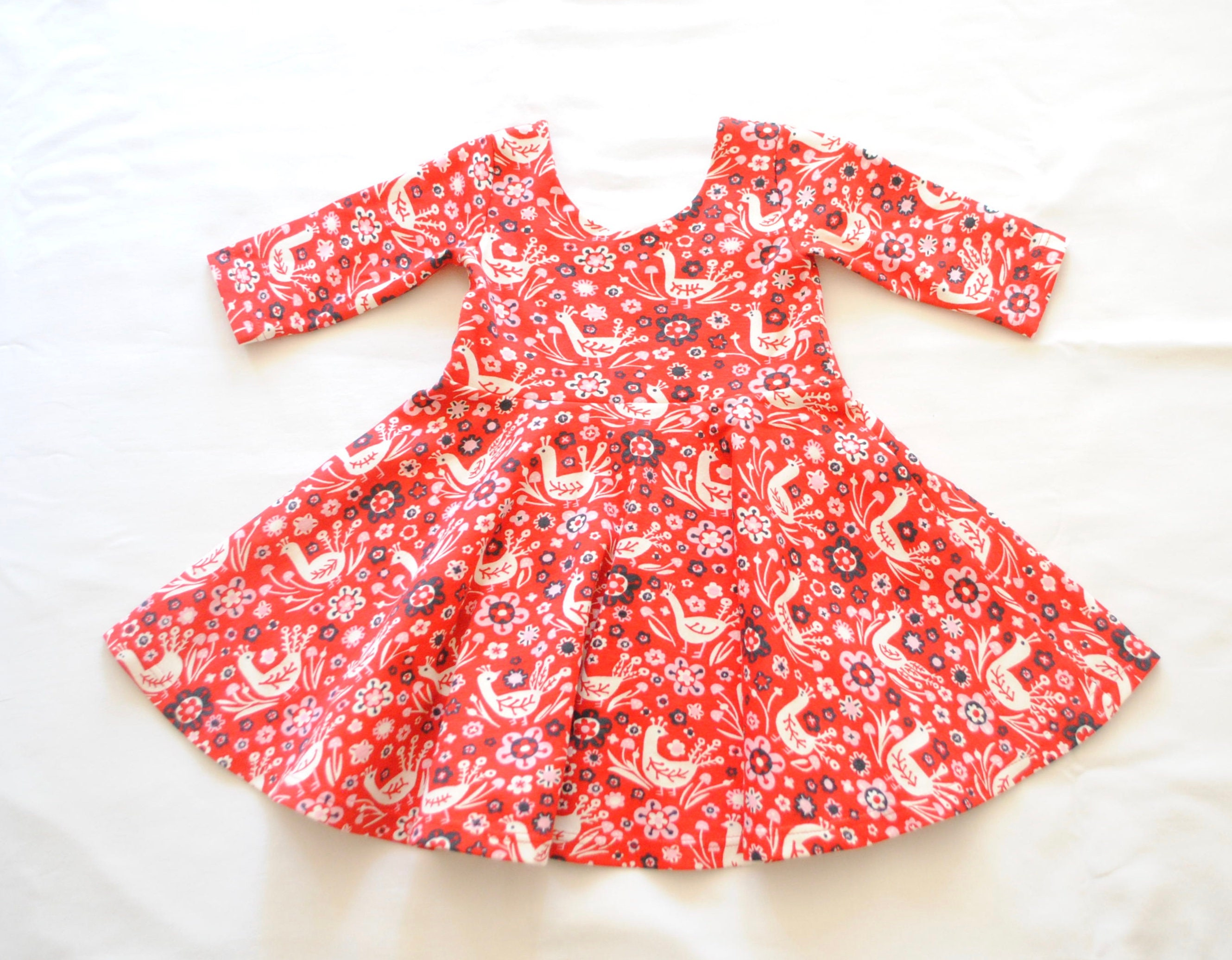 bae856acb98 Organic Baby DressOrganic Toddler DressBirch Organic Twirl