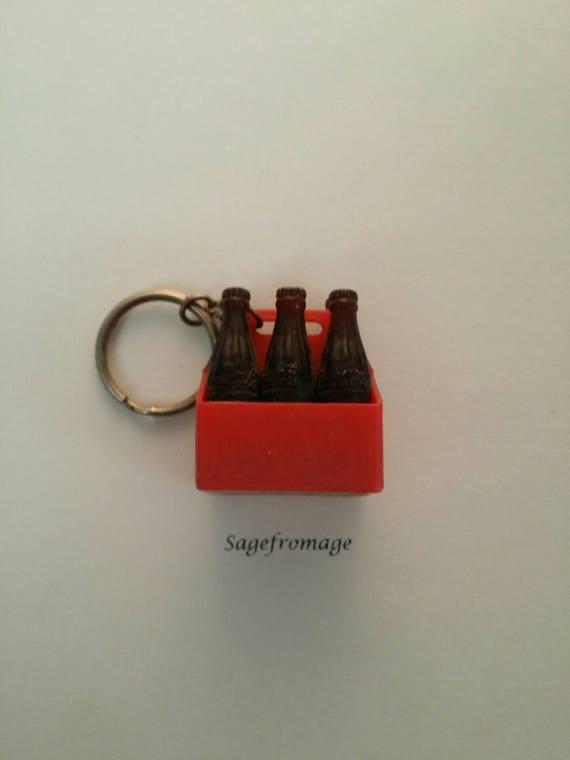 Letter 'V' Coca Cola Keychain