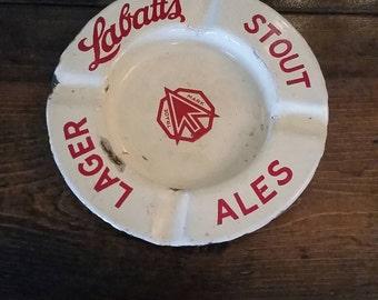 Labatt's Stout Lager Ale Ashtray