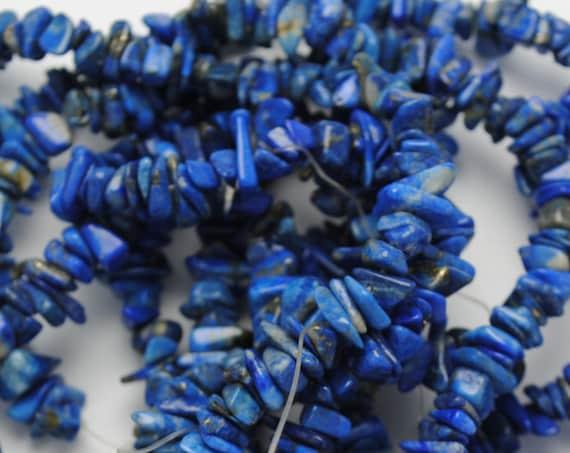Perles baroques en lapiz lazuli