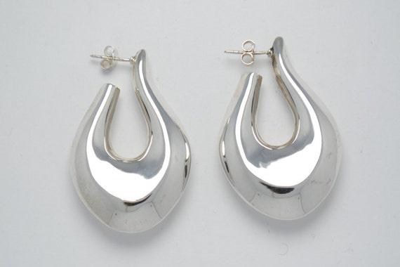 Boucles d'oreille en argent