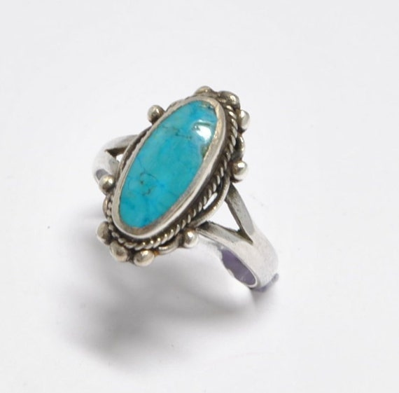 Native american man ring, turquoise man ring, turquoise ring, motard ring, navajo ring, navajo man ring, vintage man ring, men rings