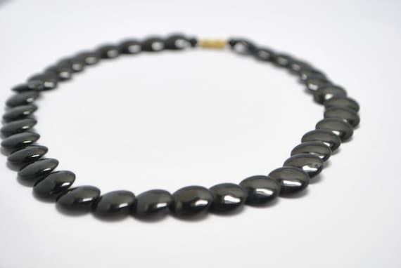 Collier de perles en onyx