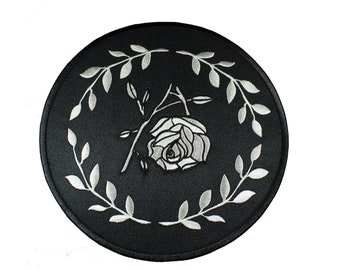 Broken Bloom Mourning Large Iron On Back Patch