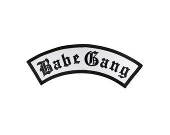 Babe Gang Rocker Iron On Back Patch