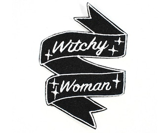 Witchy Woman Banner Patch