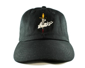 Suffer No Fools Embroidered Black Dad Hat