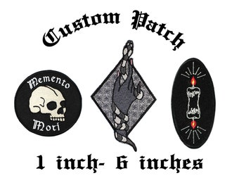 Custom 1 Inch To 6 Inch Embroidered Patch