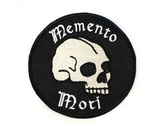 Memento Mori Iron On Patch