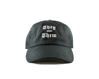They / Them Pronoun Hat