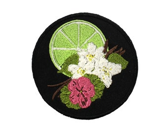 Self Love Kitchen Witch Iron On Embroidered Patch