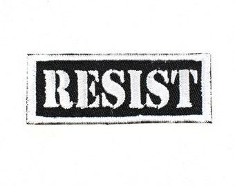 Resist! Patch
