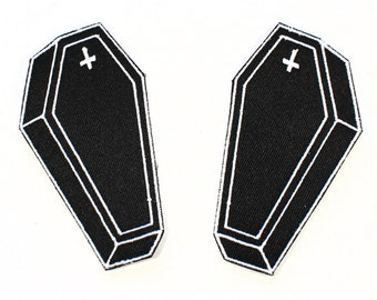 Mini Coffin Patch Duo