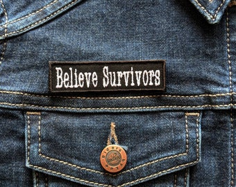 Believe Survivors Patch