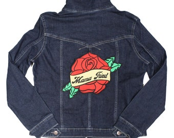 Mama Tried Large Back Patch