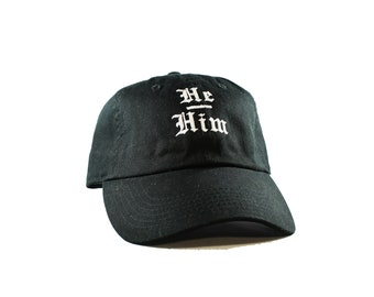 He / Him Pronouns Hat