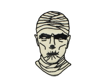 The Mummy Iron On Embroidered Patch