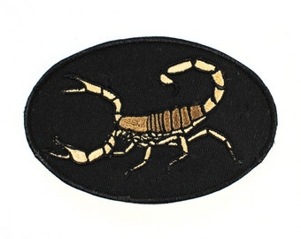 Scorpion Embroidered Patch