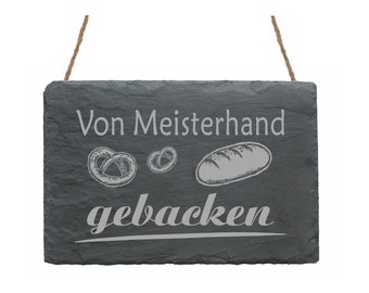 Stempel « KUCHEN » Adressenstempel Motiv Retro Bäcker Bäckerei Backen Backshop