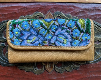 Blue Bell Wallet Mermaid's Pearl Pure Gold Leather