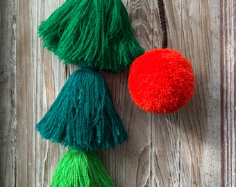 Poms and Tassels